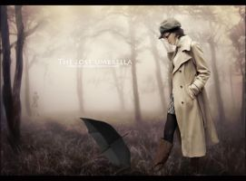 The lost umbrella by Doucesse