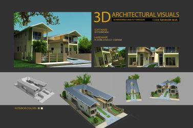 Architectural visualization by sahandsl
