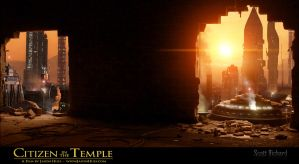Citizen in the Temple Matte 1-6 by rich35211
