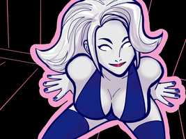 Lady Death Doodle by wildcats25