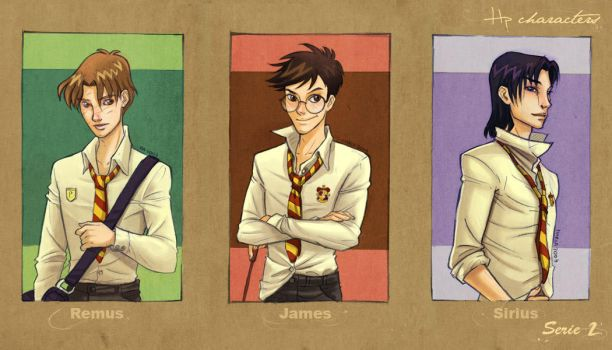 HP characters_serie 2 by mary-dreams
