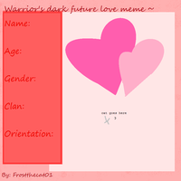WDF looking for love meme by frostthecat01
