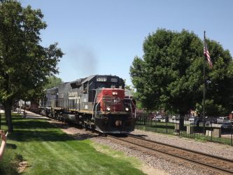 Southern Pacific 9391 by metalheadrailfan