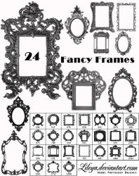 Fancy Frames Brush Set 2 by Lileya