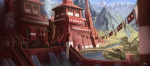 Mountain Brewery by behindspace99