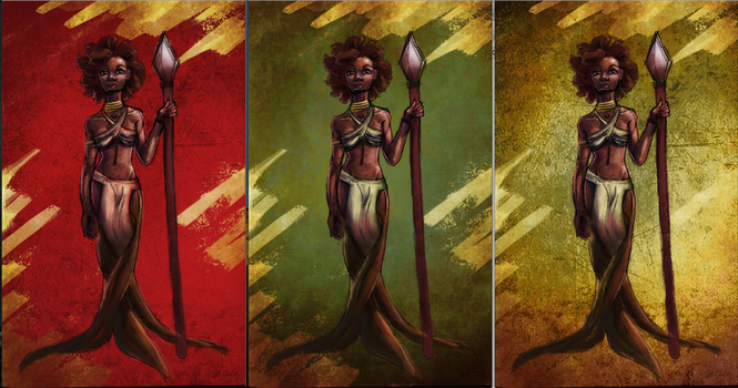 African Roots bg variations by weird-enough-ya