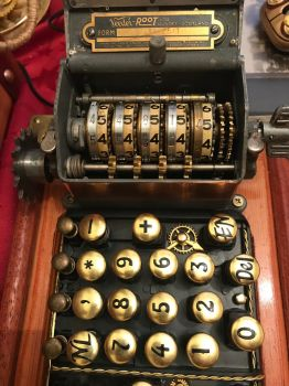 Steampunk keyboard  by ovdiem