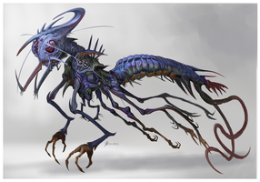 Dragonfly-From-Hell by Davesrightmind