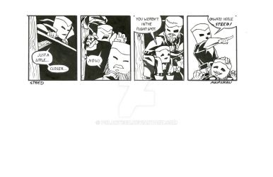 Tom and Walley Comic Strip 6 by Polartech