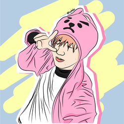 Jungkook X Cooky by bydinikw
