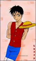 new look of luffy by marik-devil