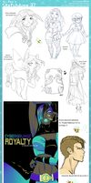 Sketchdump 37 by Beedalee-Art