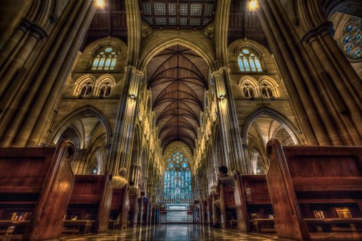 St Mary's Cathedral Sydney by wai-cheong