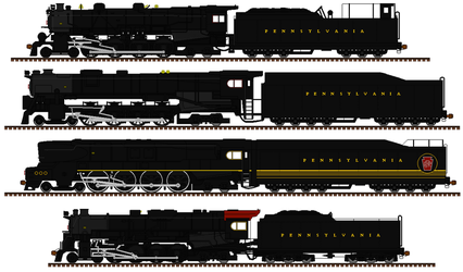 The PRR R class engines by mrbill6ishere