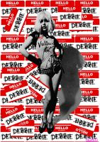 Hello My Name Is Debbie by Evlisking