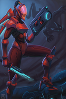 Anomaly hunter by Keilink