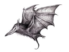Dream Camazotz, Carrion Bat by KingOvRats