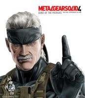 Solid Snake - old by ppleong