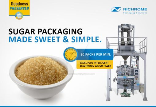 Sugar Packaging Made Sweet and Simple by nichromeindia