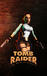 Tomb Raider I - Unofficial Poster by LitoPerezito