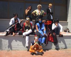 Pisa comics Cosplay Group by Sommum