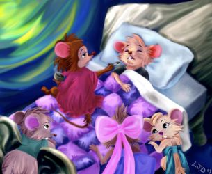 The Brisby Family by Zeline-Jaydee