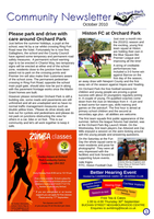 OrchardPark Newsletter Oct2010 by nunt
