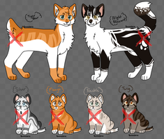 TigerXNight Litter [Adopt SP Open] by alexia99adopts