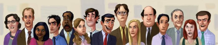 The Office by Neanderthal-Jam