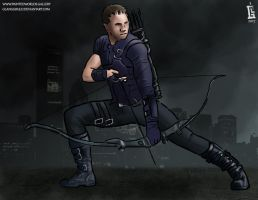 Speedpaint 013: Hawkeye (Marvel) (11/03/2017) by GLangGould