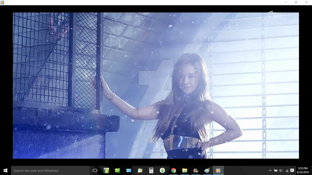 SNSD's Yuri in You Think Screenshot by ThEmYsTERYcReW