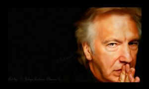 Alan Rickman by Juliya-Corleone