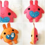Multiple Personality Bun by hellohappycrafts