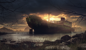 Wreck by stgspi
