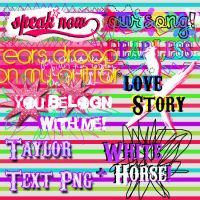 TaySwift Text Png by DivasWorld
