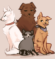 Team Doggo (?) by R0BUTT