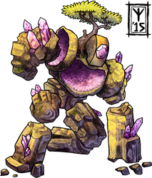 RPR Geode Golem by AThousandRasps