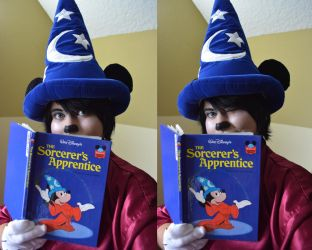 Sorcerer Mickey Mouse Cosplay by YamiKlaus