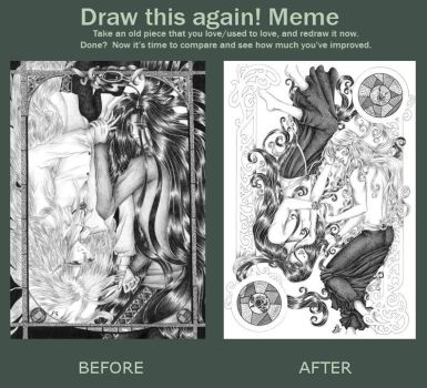 Meme: Before and After by aycolen