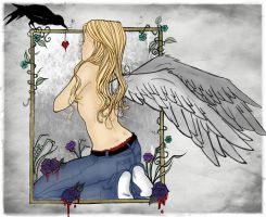 Her Crooked Wings- Colored by victorianqueen1900