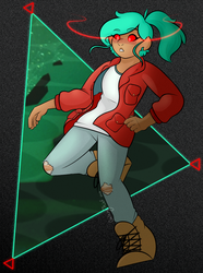 Olly Olly Oxenfree (+Speedpaint) by Crazywirdo872