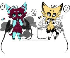 Serpesh Twins [Adopts] - Closed by Jeyawue