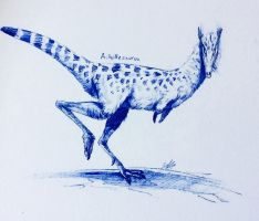 Achillesaurus by Quadrupedal