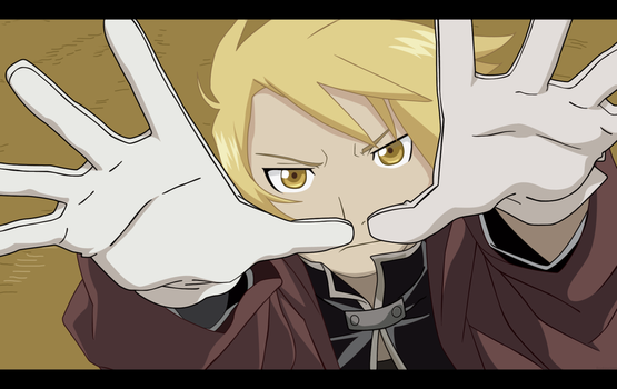 The Fullmetal Alchemist by Roobmeister