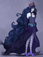 Marceline the Vampire Queen by Marina-Shads