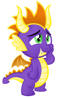 Spykro the Dragon by AleximusPrime