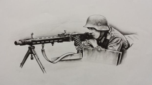 Germany Soldier by Sombie69