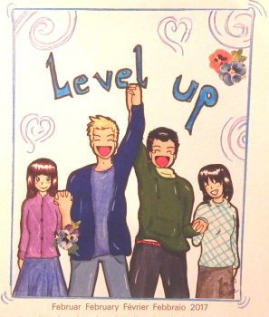 Februar - Level up by Arisa93