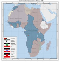 German colonies in Africa 1922 (alternate history) by Arminius1871