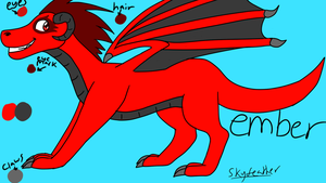 Ember Ref by skyfeather0066